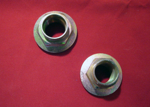 Spindle Nuts - Front and Rear