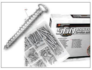 560 Piece Stainless Steel Self Tapping Screw