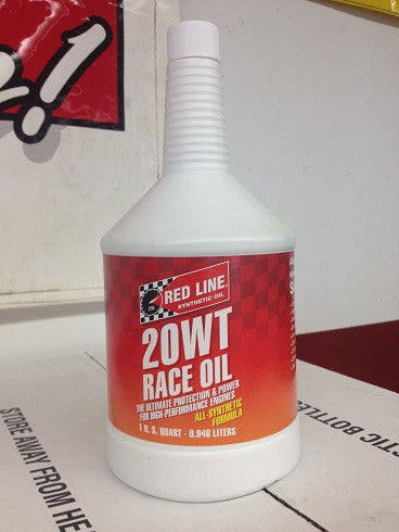 Redline 20WT Race Oil   Quart or By the Case
