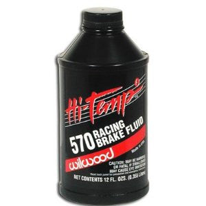 Wilwood 570 Racing Brake Fluid Hi-Temp 12 oz