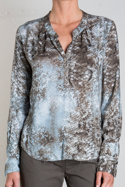 MICHELLE BLOUSE - WATERSNAKE
