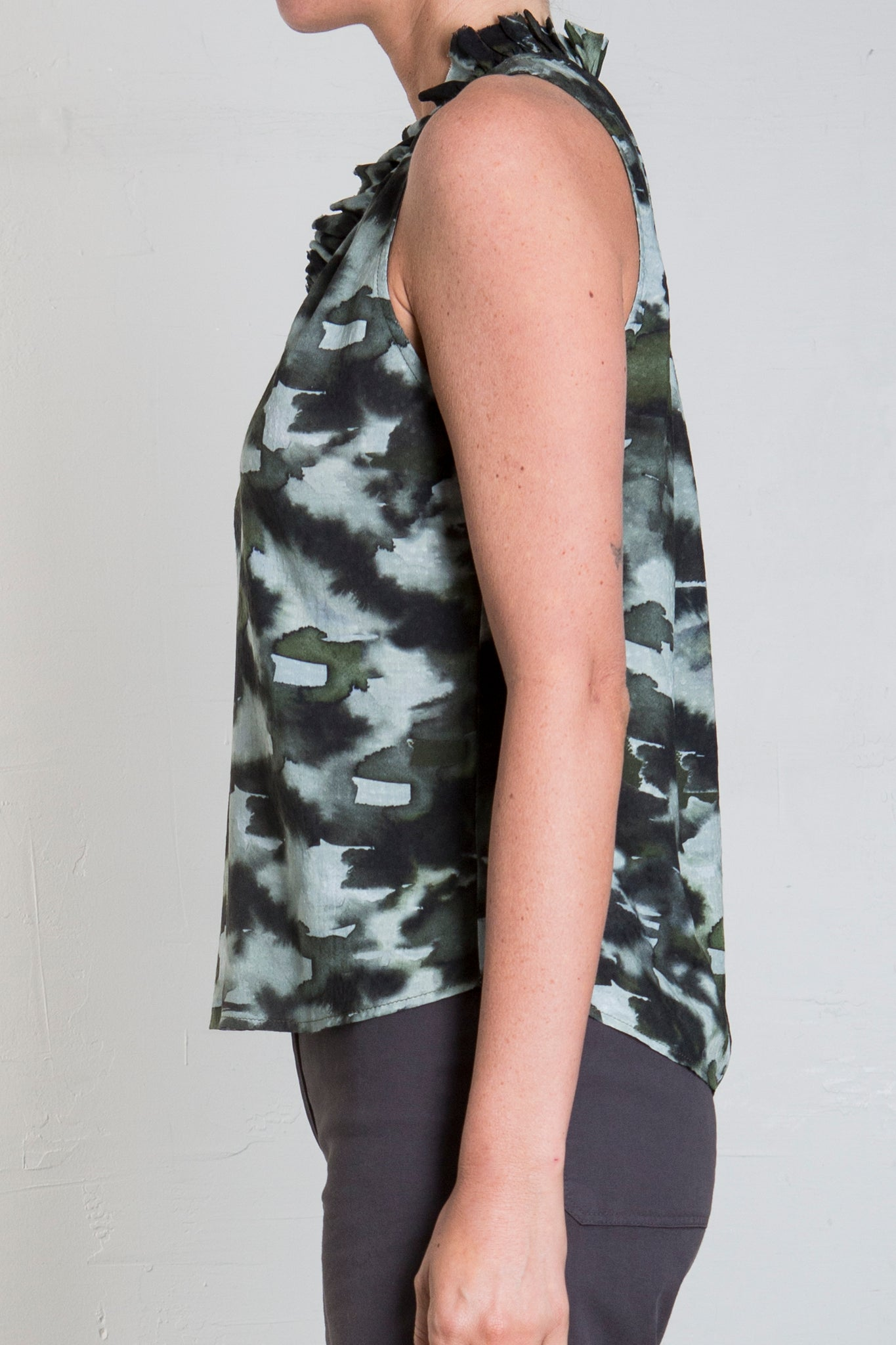 KNIGHTLY PRINTED TOP - CAMO