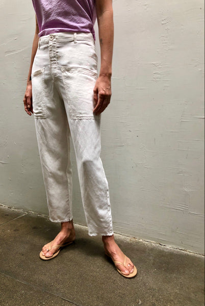 ERIN pant in parchment
