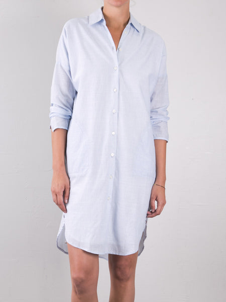 Cotton Stripe Augustine Shirtdress