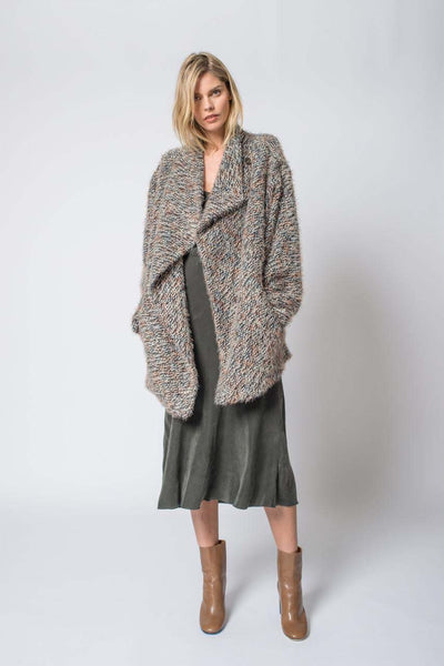 Tweed Addison Cocoon Coat