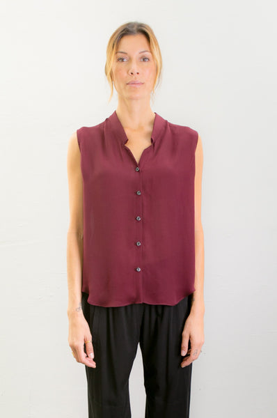 Cocoon Sleeveless Shirt