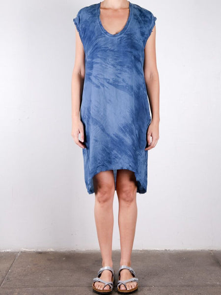 Cloudy Cocoon Dress / Blue