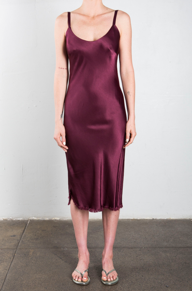Jane Slip Dress in Fig