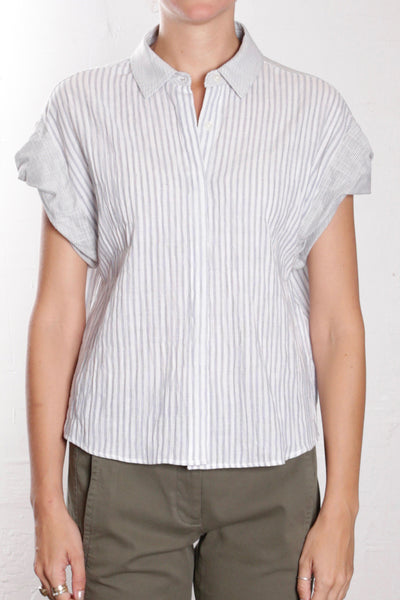 Danny Shirt in cotton stripe