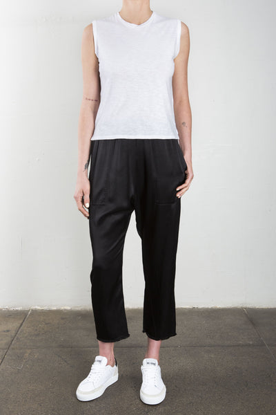 Erika Drop Pant - Black