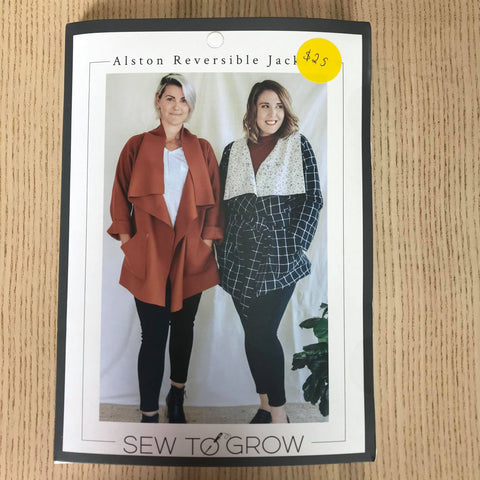 Alston Reversible Jacket - Sew to Grow