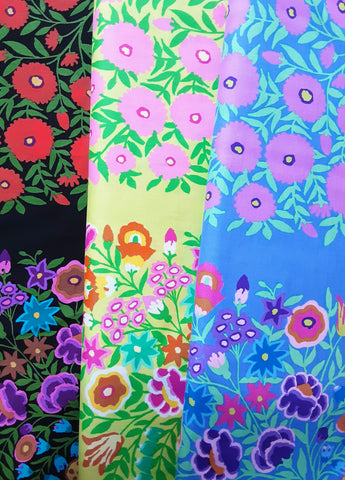 Kaffe Fassett - Field Bouquet - Black