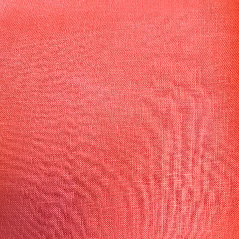 Japanese Linen (Coral) - 135cm wide