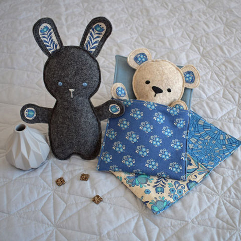 Bed Time Bunny and Bear - Clare's Place