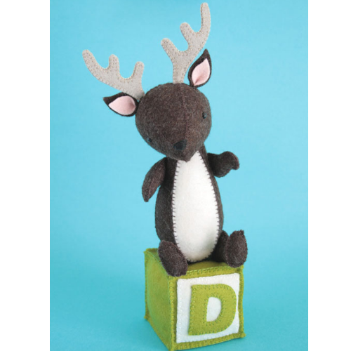 D is for Deer - RicRac