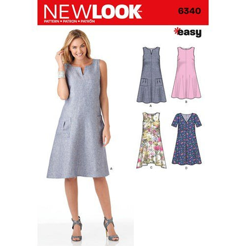 New Look Pattern 6340 (A) - Misses' (Size 8 - 20)