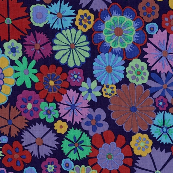 Kaffe Fassett Folk Flower Purple