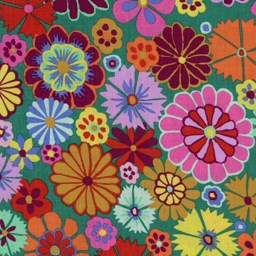 Kaffe Fassett Folk Flower Multi