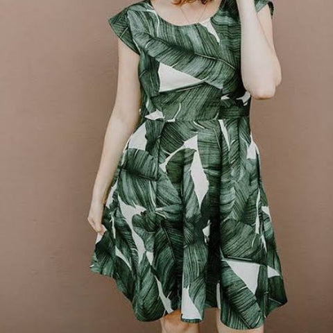 Sweet Summertime Dress - Sew To Grow