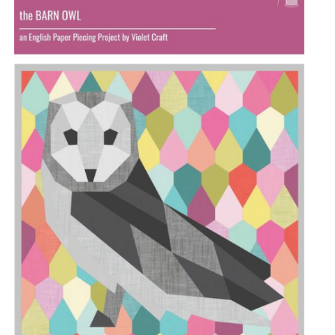 Violet Craft Barn Owl Pattern Pack - Pre Order