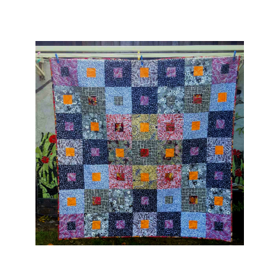 Camping Under Stars Quilt Kit