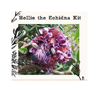 Hollie the Echinda Soft Toy Kit