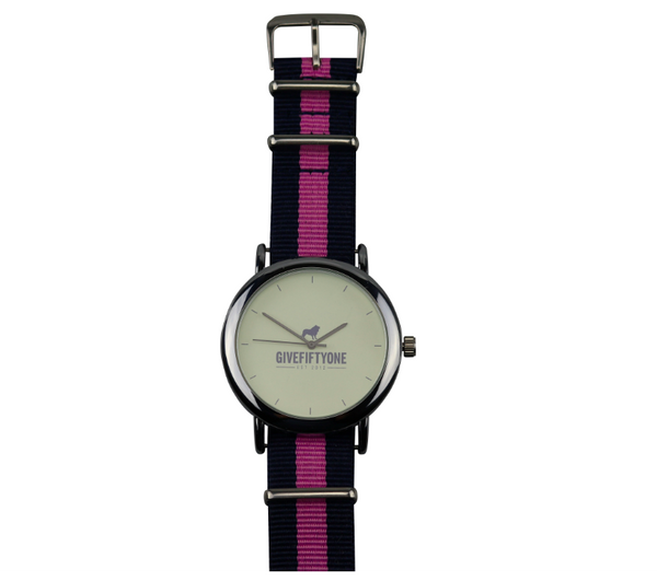 NAVY & PINK COAST TO COAST WATCH