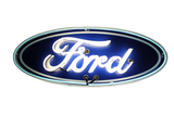 "45"" Ford Oval Neon Sign"