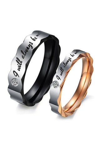 Perhiasan Cincin Couple Pasangan Vernyx Always Love You - VERNYX