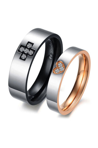 Perhiasan Cincin Couple Pasangan Vernyx Elite Amour - VERNYX