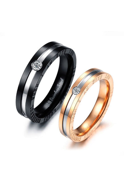 Perhiasan Cincin Couple Pasangan Vernyx With You - KADOKU KADOMU