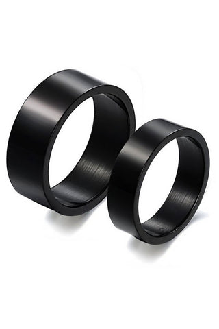 Perhiasan Cincin Couple Pasangan Vernyx Black Love - VERNYX