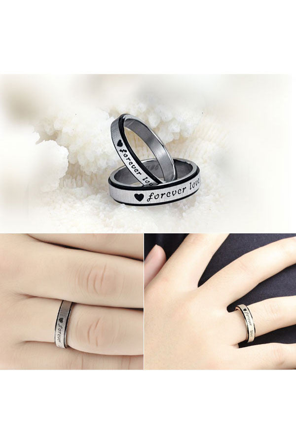 Perhiasan Cincin Couple Pasangan Vernyx Forever Love - VERNYX