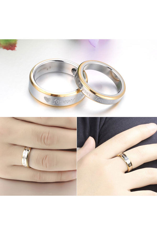 Perhiasan Cincin Couple Pasangan Vernyx Enlight Love - VERNYX