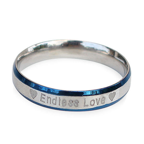 Perhiasan Cincin Stainless Wanita Vernyx Endless Love - VERNYX