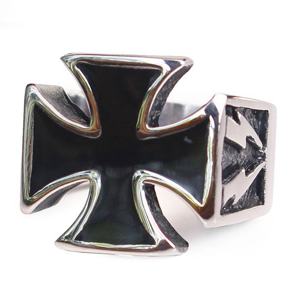 Perhiasan Cincin Gothic Stainless Pria Vernyx Lighning Independent - VERNYX
