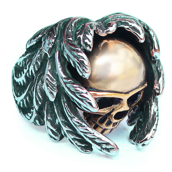 Perhiasan Cincin Gothic Stainless Pria Vernyx Guardian Soul - VERNYX