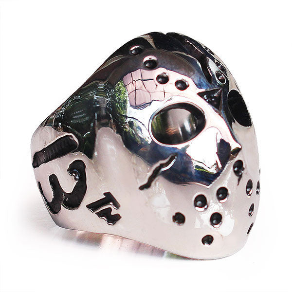 Perhiasan Cincin Gothic Stainless Pria Vernyx Friday 13th - VERNYX