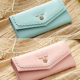 Dompet Panjang Wanita Tangle Tango Flower Lace - VERNYX