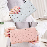 Dompet Panjang Wanita Tangle Tango Sliced Dot - KADOKU KADOMU