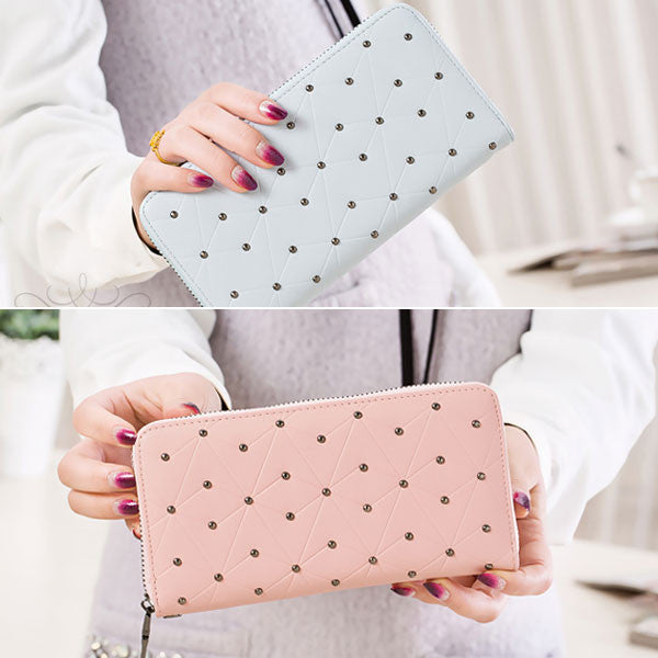 Dompet Panjang Wanita Tangle Tango Sliced Dot - VERNYX