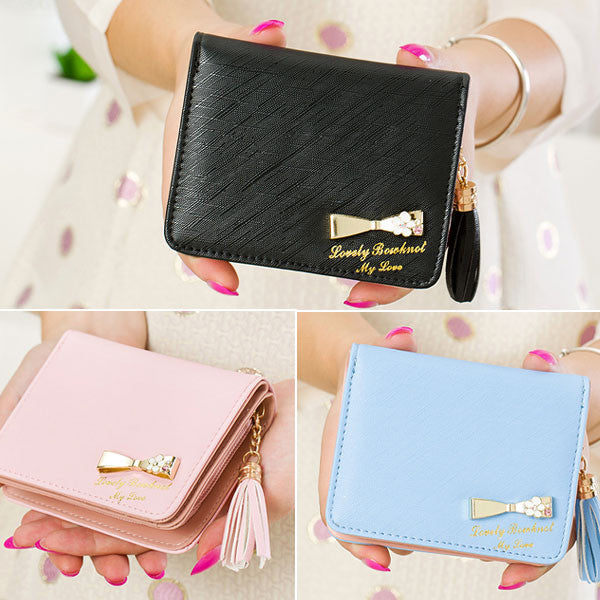 Dompet Pendek Wanita Tangle Tango Lovely Ribbon - KADOKU KADOMU