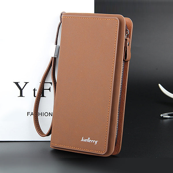 Dompet Panjang Pria Baellerry Brownish - VERNYX