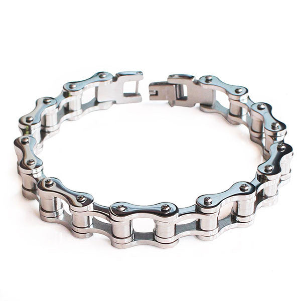 Perhiasan Gelang Stainless Pria Vernyx Cylinder Cycle - VERNYX