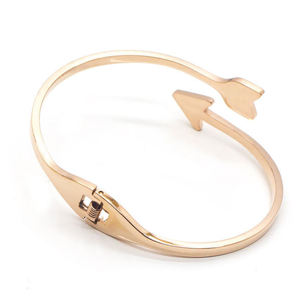 Perhiasan Gelang Wanita Stainless Vernyx Twist Arrow - VERNYX