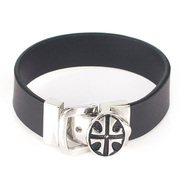 Perhiasan Gelang Pria Leather Vernyx Independent Belt - VERNYX
