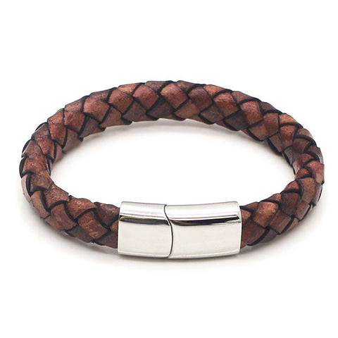 Perhiasan Gelang Pria Leather Vernyx Diamond Cork
