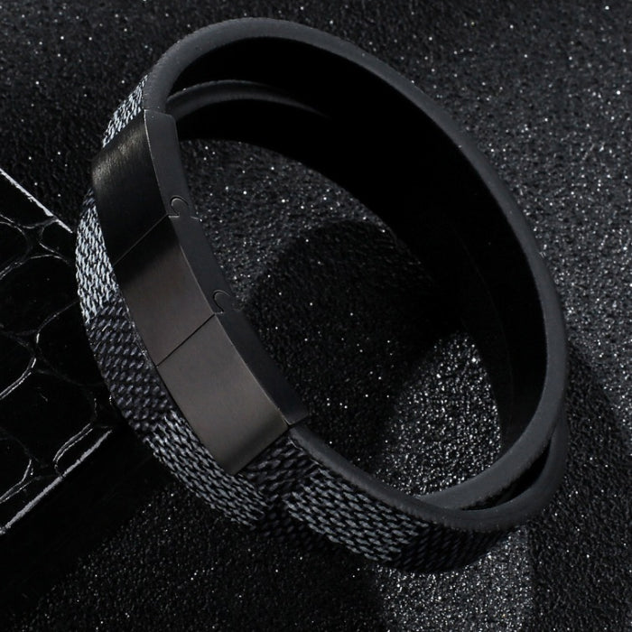 Perhiasan Gelang Leather Pria Vernyx Hyper Gauntlet - VERNYX