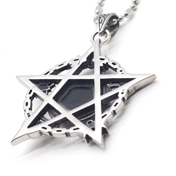 Perhiasan Kalung Gothic Pria Vernyx Mark of Death - VERNYX