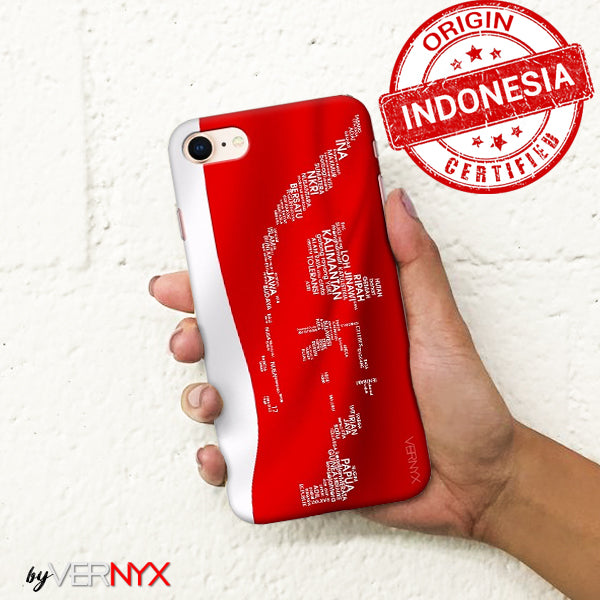 Phone Case Peta Indonesia Bersatu - VERNYX